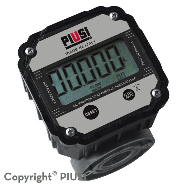 PIUSI K600 B/3 elektronischer Ovalradzhler fr Diesel - PIUSI